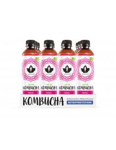 Kombucha - Vadelma 12x370ml pullo Puhdistamo KOMV370X12 - 1