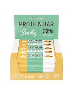 Kollageeni Protein Bar - Appelsiini 24 x 30 g proteiinipatukka Puhdistamo KPA30X24 - 1