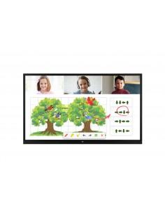"LG 55TR3BG-B signage display Digital flat panel 139.7 cm (55"") IPS Black Touchscreen Lg 55TR3BG-B - 1"