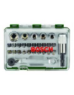 Bosch Rainbow Pro 27 bit + ratchet screwdriver pc(s) Bosch 2607017160 - 1