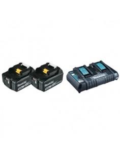 Makita 197629-2 batteri och laddare för motordrivet verktyg Makita 197629-2 - 1