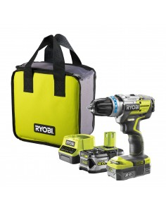 Ryobi R18PDBL-252S 1700 RPM utan nyckel 1.3 kg Svart, Gul Ryobi 5133003614 - 1