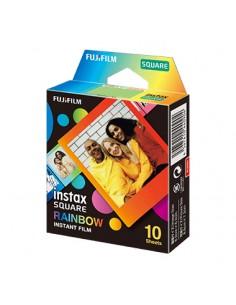 Fujifilm SQUARE 'Rainbow' polaroidfilm 10 styck 76.2 x 50.8 mm Fujifilm 16671320 - 1