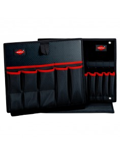 Knipex 00 21 19 LB WK työkalulaatikko Musta Polyesteri Knipex 00 21 19 LB WK - 1