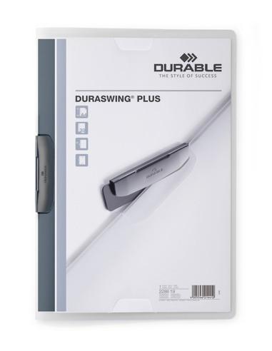 Durable Duraswing plus Polypropeeni (PP) Läpinäkyvä A4 Durable 228819 - 1