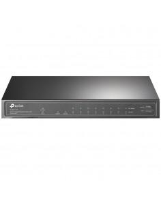 TP-LINK TL-SG1210P verkkokytkin Gigabit Ethernet (10/100/1000) Power over -tuki Harmaa Tp-link TL-SG1210P - 1