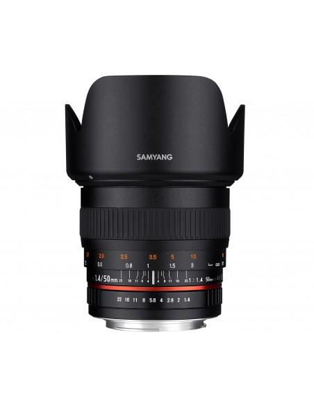 Samyang 50mm F1.4 AS UMC SLR Vakio-objektiivi Musta Samyang 21848 - 2