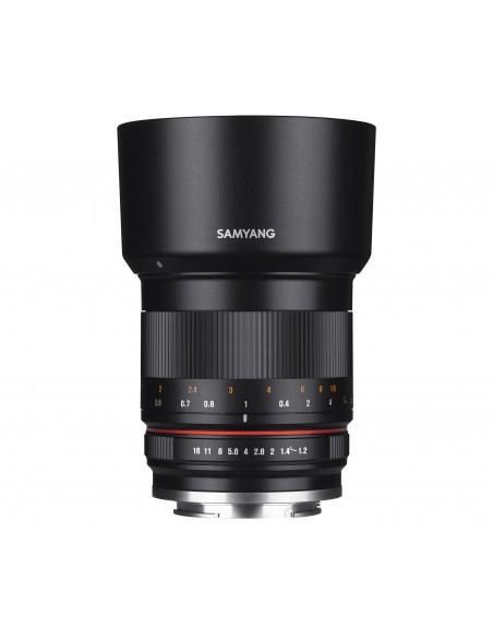 Samyang 50mm F1.2 AS UMC CS MILC Vakio-objektiivi Musta Samyang 21937 - 3