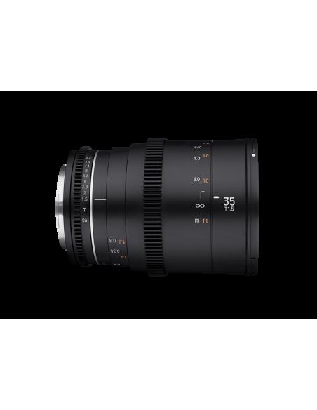 Samyang VDSLR 35mm T1.5 MK2 MILC Elokuvaobjektiivi Musta Samyang 23012 - 4