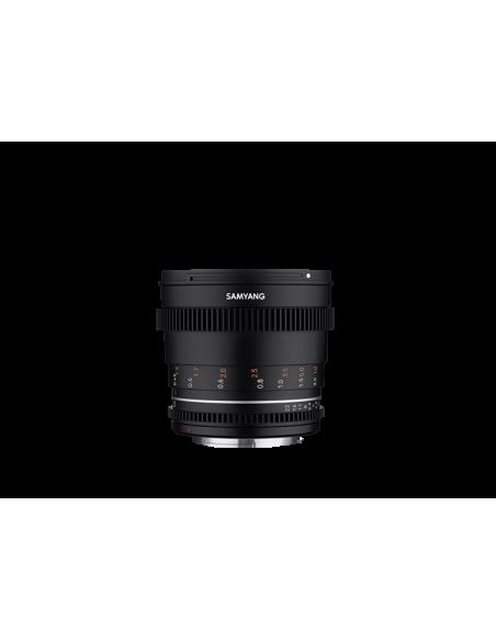 Samyang VDSLR 50mm T1.5 MK2 MILC Elokuvaobjektiivi Musta Samyang 23015 - 3
