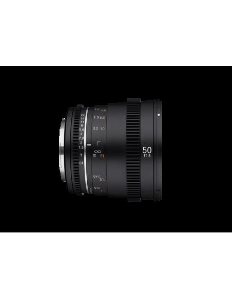 Samyang VDSLR 50mm T1.5 MK2 MILC Elokuvaobjektiivi Musta Samyang 23015 - 4