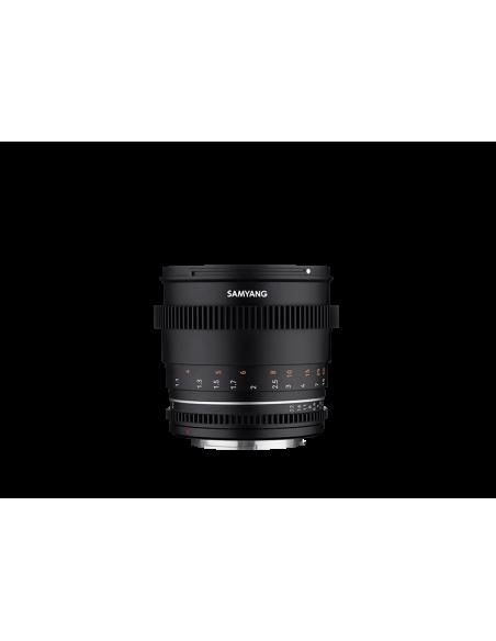Samyang VDSLR 85mm T1.5 MK2 MILC Elokuvaobjektiivi Musta Samyang 23023 - 3