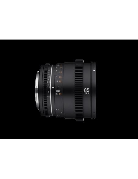 Samyang VDSLR 85mm T1.5 MK2 MILC Elokuvaobjektiivi Musta Samyang 23023 - 4