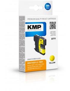 Kmp B77y Tintenpatrone Yellow Kompatibel Mit Brother Lc-980 Y Kmp Creative Lifestyle Products 1521,4009 - 1