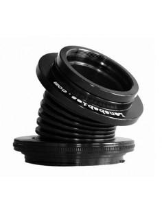 Lensbaby Velvet 28 Silver Nikon F Lensbaby LBV28SEN - 1