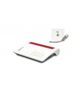AVM FRITZ!Box 7530 AX langaton reititin Kaksitaajuus (2,4 GHz/5 GHz) Gigabitti Ethernet 3G 4G Valkoinen Avm Computersysteme Vert