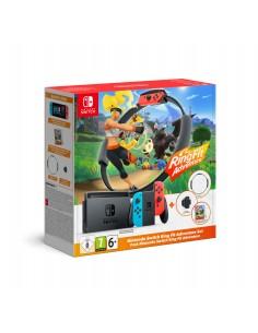 "Nintendo Switch HW + Ring Fit Adventure (Limited) kannettava pelikonsoli 15,8 cm (6.2"""") 32 GB Wi-Fi Musta, Sininen, Punainen Ni"