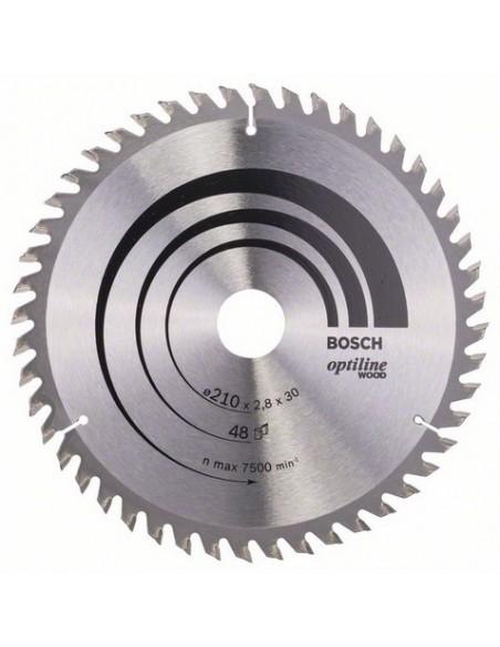 Bosch 2 608 640 623 cirkelsågsblad 21 cm 1 styck Bosch 2608640623 - 1