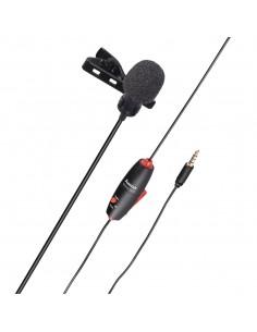 Hama Smart Musta Paikoilleen napsautettava mikrofoni Hama 4634 - 1