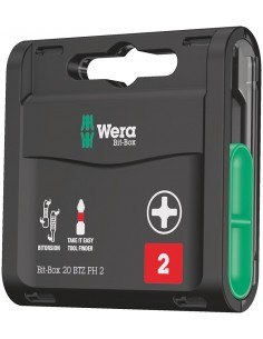 Wera Bit-box 20 Btz Ph Wera 05057751001 - 1