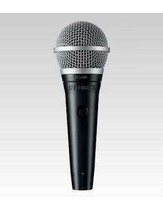 Shure PGA48-XLR Musta, Metallinen Lava-/esitysmikrofoni Shure PGA48-XLR-E - 1