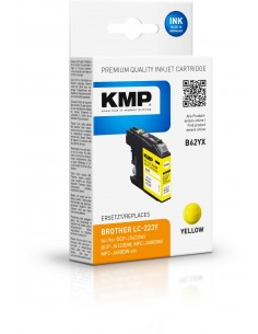 KMP B62YX 1 kpl Yhteensopiva Keltainen Kmp Creative Lifestyle Products 1529,4009 - 1