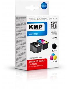 KMP C97V 2 kpl Yhteensopiva Korkea (XL) värintuotto Musta, Syaani, Magenta, Keltainen Kmp Creative Lifestyle Products 1562,4005