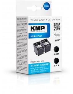 KMP 1719.4021 mustekasetti 2 kpl Yhteensopiva Musta Kmp Creative Lifestyle Products 1719,4021 - 1