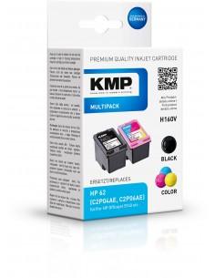 KMP 1741.4805 mustekasetti 2 kpl Yhteensopiva Musta, Syaani, Magenta, Keltainen Kmp Creative Lifestyle Products 1741,4805 - 1