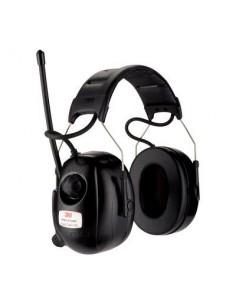 3M HRXD7A-01 kuulokkeet ja kuulokemikrofoni Pääpanta 3.5 mm liitin Musta Peltor 7100113507 - 1