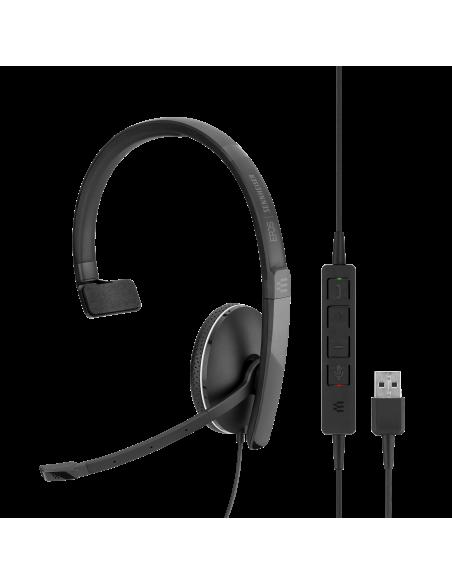 EPOS   Sennheiser ADAPT SC 135 USB Kuulokkeet Pääpanta 3.5 mm liitin A-tyyppi Musta Sennheiser 508316 - 7