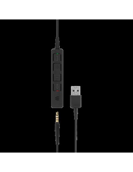 EPOS | Sennheiser ADAPT SC 165 USB Kuulokkeet Pääpanta 3.5 mm liitin A-tyyppi Musta Sennheiser 508317 - 7
