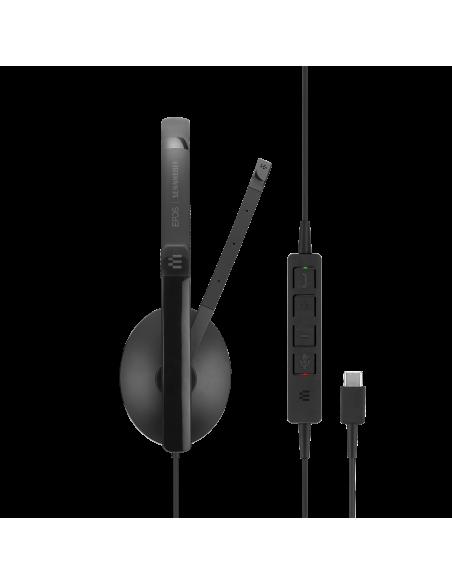 EPOS | Sennheiser ADAPT 135 USB-C Kuulokkeet Pääpanta 3.5 mm liitin USB Type-C Musta Sennheiser 508355 - 4