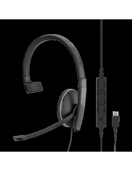 EPOS | Sennheiser ADAPT 135 USB-C Kuulokkeet Pääpanta 3.5 mm liitin USB Type-C Musta Sennheiser 508355 - 7
