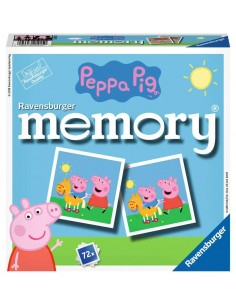 Ravensburger memory Peppa Pig Matching card game Ravensburger 21415 0 - 1