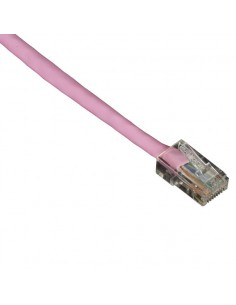 Black Box Cat5e, 0.6m verkkokaapeli Vaaleanpunainen 0.6 m U/UTP (UTP) Black Box EVNSL56-0002 - 1