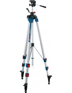 Bosch 0 601 096 A00 stativ Laserpass 3 ben Blå, Vit Bosch 0601096A00 - 1