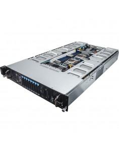 Gigabyte G250-G50 Intel® C612 LGA 2011-v3 Teline ( 2U ) Gigabyte 6NG250G50MR-00 - 1