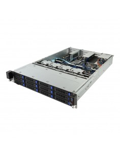 Gigabyte R281-3C0 Intel® C621 LGA 3647 (Socket P) Teline ( 2U ) Musta, Harmaa Gigabyte 6NR2813C0MR-00 - 1