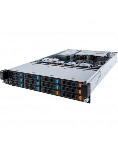 Gigabyte R28N-F3C Intel® C612 LGA 2011-v3 Teline ( 2U ) Musta, Harmaa Gigabyte 6NR28NF3CMR-00 - 1