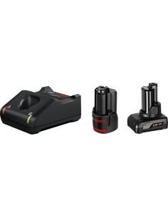 Bosch 1 x GBA 12V 2.0Ah + 4.0Ah GAL 12V-40 Professional Household battery AC Bosch 1600A01NC9 - 1