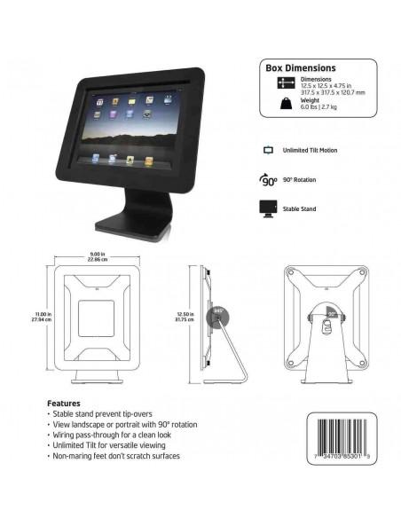 Compulocks iPad Enclosure Kiosk tabletin turvakotelo Valkoinen Maclocks AIO-W - 5
