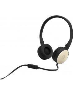 HP H2800 Headset Huvudband 3.5 mm kontakt Svart, Guld Hp 2AP94AA#ABB - 1