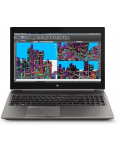 "HP ZBook 15 G5 Mobile workstation 39.6 cm (15.6"") 1920 x 1080 pixels 8th gen Intel® Core™ i7 16 GB DDR4-SDRAM 512 SSD NVIDIA® Hp"