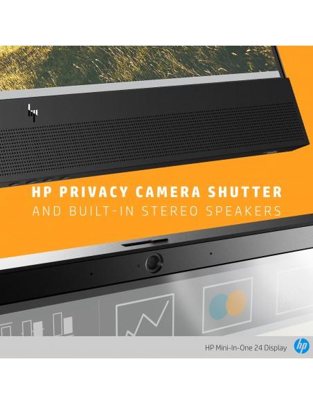 """HP Mini-in-One 24 60.5 cm (23.8"""") 1920 x 1080 pixlar Full HD LED Svart Hp 7AX23AA#ABB - 8"""
