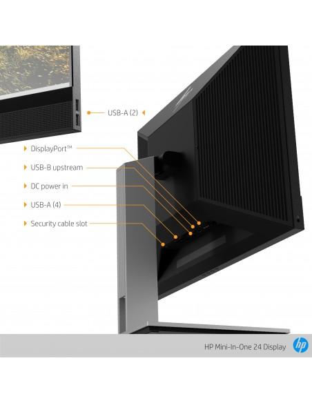 """HP Mini-in-One 24 60.5 cm (23.8"""") 1920 x 1080 pixels Full HD LED Black Hp 7AX23AA#ABB - 11"""