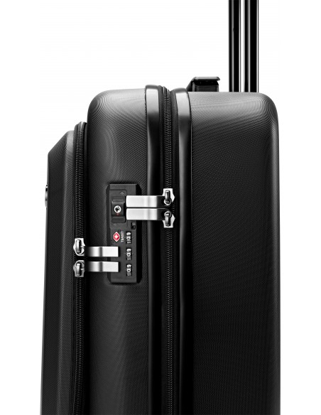 HP All in One Carry On Luggage Trolley Black Acrylonitrile butadiene styrene (ABS), Polycarbonate Hp 7ZE80AA - 4