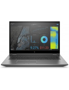 "HP ZBook Fury 17 G7 Mobiilityöasema 43.9 cm (17.3"") 1920 x 1080 pikseliä 10. sukupolven Intel® Core™ i7 32 GB DDR4-SDRAM 512 Hp"