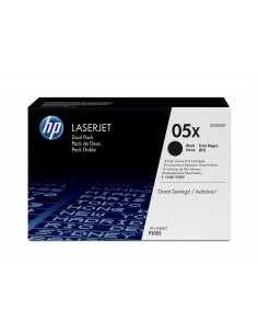 HP 05X 2 pc(s) Original Black Hp CE505XD - 1