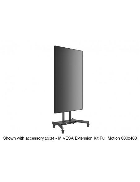 Multibrackets M Public Floorstand Basic 180 incl shelf & camera holder Multibrackets 7350073734627 - 23